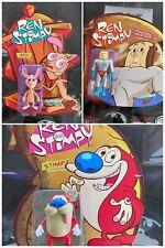 Super7 2021 Ren & Stimpy ReAction Figure Full Set Powdered Toast Man 3.75''
