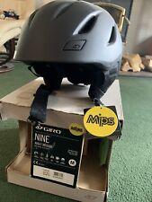 Giro Nine Mips Black Medium Helmet $120 Retail, Nwt