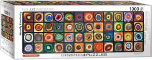 Eurographics 1000 Piece Jigsaw Puzzle - Colour Squares Panoramic EG60105443