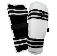 TKD Shin Guard Protector Sparring Pads - MMA, Kickboxing, Muay Thai Martial Arts