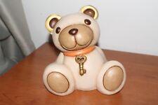 Thun, Orso Teddy Aldo con chiave. Altezza 15,5 cm.