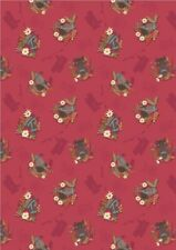 Lewis & Irene, Farley Mount, 100% Cotton Fabric, Fat Quarter, Horses, Pony