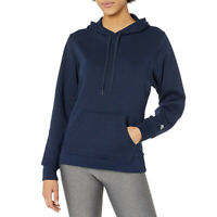 Russell Athletic Women's Pullover Hoodie Lightweight Ring Spun Fleece Activewear