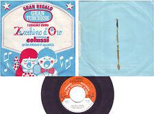 """I CLASSICI DELLO ZECCHINO D'ORO Caccia al Tesoro/La Sirenetta (1973) Vinyl, 7"""""""