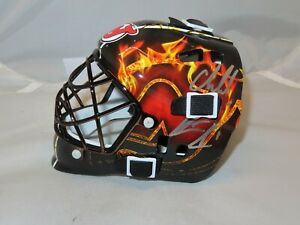 Cory Schneider & Keith Kinkaid Signed NJ Devils Mini Goalie Mask Beckett COA 1B