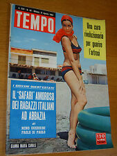 TEMPO 1963/35=GIANNA MARIA CANALE=MARINA FAVA=MARIO PEZZI STORIA AVIATORI ITALIA