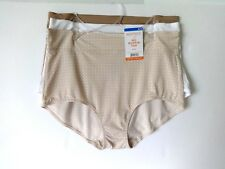WARNERS WOMENS NO MUFFIN TOP BRIEF SIZE 8 XL 3 PAIR STYLE RS4383R
