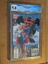 Superman/Batman #9 Michael Turner Cover Zor-El Artemis appearance  CGC 9.8 NM+/M