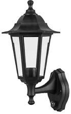 Wall Mounted Garden Light with Dusk to Dawn Sensor Black