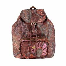 NEU Oilily Rucksack Paisley Folding Classic Backpack Coffee Braun UVP 69,99 €