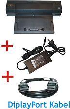 Dell PR02X Dockingstation +Netzteil PA4E 130W +DisplayPort Kabel für E6500Serie