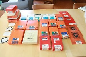 LOT DE PAPIER PHOTO ILFORD AGFA BROVIRA GERVAERT DALCO