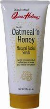QUEEN HELENE Natural Facial Scrub, Oatmeal 'n Honey 6 oz