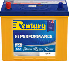 CENTURY NS70MF HIGH PERFORMANCE BATTERY QUALITY AUSTRALIAN MADE BATTERIES
