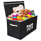 Woffit Toy Storage Organizer Chest for Kids & Living Room, Nursery, Playroom, –