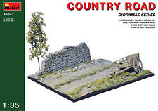 MiniArt 36047 Country Road Scale Plastic Model Kit 1/35