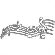 Die cut Music Note cutting dies stencil for Scrapbooking Paper Craft Photo Album