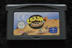 Crash Nitro Kart Nintendo Gameboy Advance