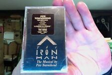 Pete Townshend- The Iron Man- musical by Pete Townshend- new/sealed cassette