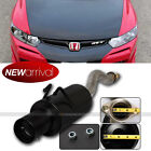 For: 06-10 Civic 2/4 DR Stainless Axle back Exhaust Black Muffler 4