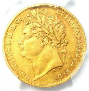 1823 Great Britain England George IV Gold Half Sovereign Coin 1/2S - PCGS XF45