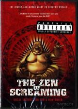 The Zen of Screaming Melissa Cross Vocal Voice Singing DVD Metal Grunting Growl