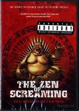 The Zen of Screaming Melissa Cross Vocal Voice Singing DVD Metal Grunting Growl