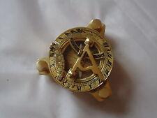 Brújula De Latón Reloj de Sol Nueva-Envío Bell-Lámpara ruedas