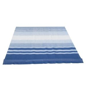 ALEKO Vinyl Fabric Replacement 10X8 ft For RV Awning Blue Stripes Color