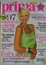 Prima Magazine April 2007. The miracle workers. We got healthy by accident.