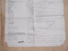Flipper Original schéma FLIPPER GOTTLIEB SWING ALONG 1963