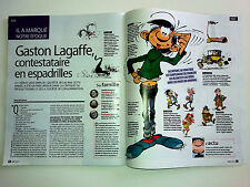 article GASTON LAGAFFE a  60 ans anticonformiste avant l'heure avril 2017
