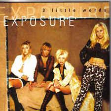 Exposure-3 Little Words cd single