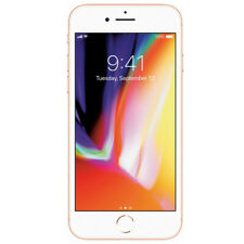 Apple iPhone 8 64GB Gold T-Mobile MQ712LL/A GSM Smartphone iOS 4G LTE