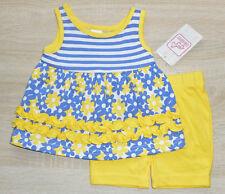 Baby Mädchen Sommer Kleid 💕 Anzug Set 2tlg 💕 Oberteil + Hose 💕 Jersey  💕 NEU