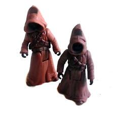 "Star Wars Original trilogy Taatoine Jawas set of 2 3.75"" toy action figures"