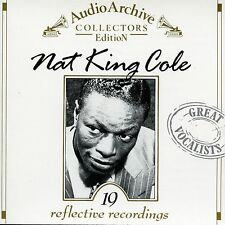 Nat King Cole /19  Reflective Recordings, Audio Archive, Collectors Edition MINT