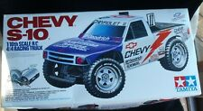 TAMIYA CHEVY S-10 TRUCK 1/10TH SCALE RC RACING 58146 **BOX ONLY**