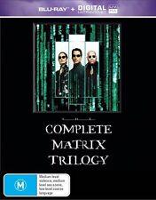 Complete Matrix Trilogy (Blu-ray, 2015, 3-Disc Set)