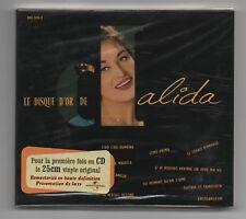 DALIDA CD (NEUF) LE DISQUE D'OR (UNIVERSAL)