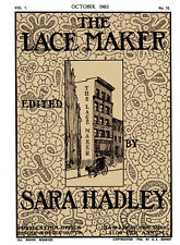 Sara Hadley Lace Maker #1.10, October, 1903 - Royal Battenberg Point Lace Book