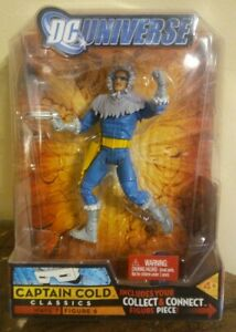 "DC Universe Classics CAPTAIN COLD 6"" MOC Wave 7 Atom Smasher BAF The FLASH"