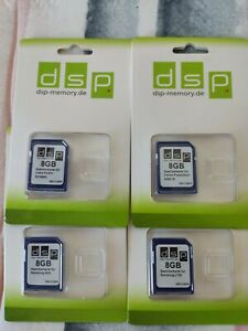 8 X DSP 8GB SD Memory Card -  New
