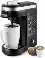 CHULUX Single Serve Coffee Maker Brewer for Cup Capsule  Black