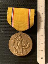 USA 🇺🇸 American Defense  Medal Belle Frappe Ancienne