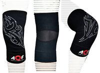 AQF Neoprene Brace Knee Support MMA Pad Guard Protector Gel Sports Work Foam Cap