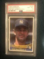 1984 Donruss #248 Don Mattingly New York Yankees RC Rookie PSA 8 Bill Hemlick Co