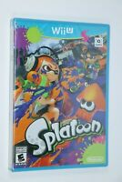 NINTENDO WII U SPLATOON GAME BRAND NEW SEALED SHIPS SAME DAY