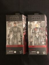 Star Wars PAIR The Bad Batch Crosshair & Hunter 6? Figure Black Series-IN HAND