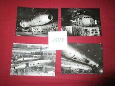 N°14354 /  4 photos argentiques construction CARAVELLE   1957-1960 ?